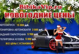 12.01.2017 НОВОГОДНИЕ ЦЕНЫ НА BIBIKAVIP!