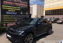 11.06.2017 BMW X6 Полировка + Ceramic pro 9h. 100% блеск